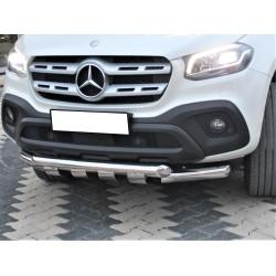 Moustache inox selinox Mercedes classe X
