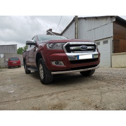 Moustache inox simple après 2012 Ford Ranger